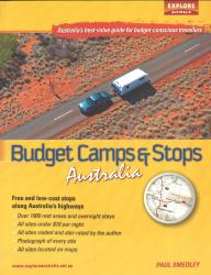 Budget Camps & Stops, Australia by Universal Publishers Pty Ltd