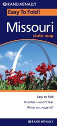 Missouri, Easy to Fold by Rand McNally