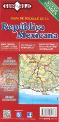 Mexico Country Map by Guia Roji