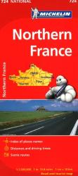 France, Northern (724) by Michelin Maps and Guides