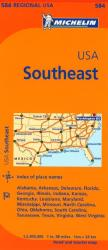 United States, Southeastern (584) by Michelin Maps and Guides
