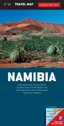 Namibia Travel Map by New Holland Publishers