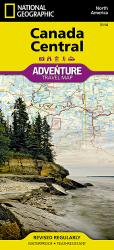 Canada, Central Adventure Map 3114 by National Geographic Maps