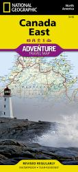 Canada, East AdventureMap by National Geographic Maps
