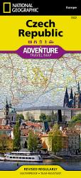 Czech Republic Adventure Map 3322 by National Geographic Maps