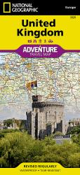 United Kingdom Adventure Map 3325 by National Geographic Maps