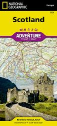 Scotland Adventure Map 3326 by National Geographic Maps