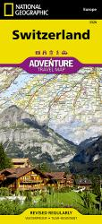 Switzerland Adventure Map 3320 by National Geographic Maps