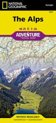 Alps Adventure Map 3321 by National Geographic Maps