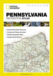 Pennsylvania Recreational Atlas by National Geographic Maps