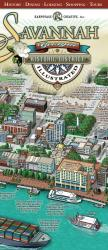 Savannah, Georgia, Historic District, illustrated by Karpovage Creative, Inc.