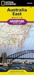 Australia, East Adventure Map 3502 by National Geographic Maps