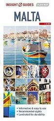Malta : Insight Guides Flexi Map by Insight Guides (Firm)