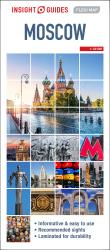 Moscow : Insight Guides Flexi Map by Insight Guides (Firm)
