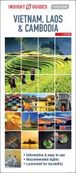 Vietnam, Cambodia and Laos : Insight Guides Flexi Map by Insight Guides (Firm)