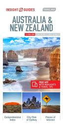 Australia & New Zealand : Insight Guides Travel Map by Insight Guides (Firm)