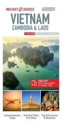 Vietnam, Cambodia & Laos : Insight Guides Travel Map by Insight Guides (Firm)