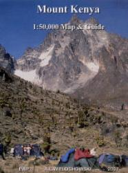 Mount Kenya 1:50,000 by EWP Publications