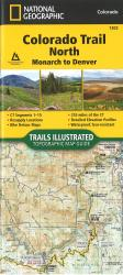 Colorado Trail North, Map 1202 by National Geographic Maps