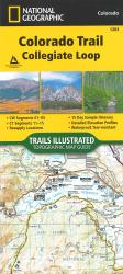 Colorado Trail Collegiate Loop (Map 1203) by National Geographic Maps