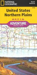 U.S. Northern Plains Adventure Map (3122) by National Geographic Maps