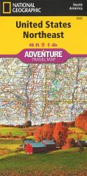 U.S. Northeast Adventure Map (3127) by National Geographic Maps