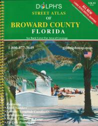 Broward County, Florida Atlas by Dolph Map Company