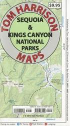 Sequoia and Kings Canyon National Parks Recreation Map by Tom Harrison Maps