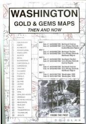 Washington, Gold and Gems, 5-Map Set, Then and Now by Northwest Distributors
