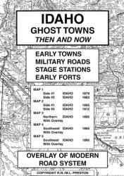 Idaho, Ghost Towns, 5-Map Set, Then and Now by Northwest Distributors