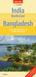 India, Northeast and Bangladesh by Nelles Verlag GmbH