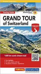 Grand Tour of Switzerland Travel Guide (English Edition) by Hallwag