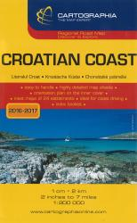 Croatian Coast Regional Road Map by Cartographia