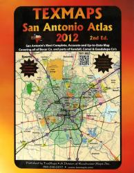 San Antoniom, Texas Atlas by Texmaps