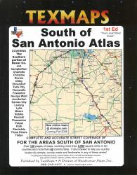 San Antonio, South, Texas Atlas by Texmaps