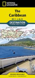 Caribbean DestinationMap by National Geographic Maps