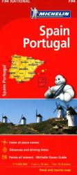 Spain and Portugal (734) by Michelin Maps and Guides