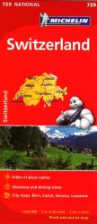 Switzerland (729) by Michelin Maps and Guides