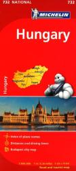 Hungary (732) by Michelin Maps and Guides