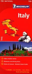 Italy (735) by Michelin Maps and Guides