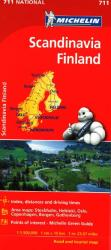 Scandinavia (711) by Michelin Maps and Guides