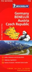 Germany, Austria, Czech Republic and Benelux (719) by Michelin Maps and Guides