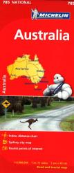Australia (785) by Michelin Maps and Guides