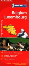 Belgium and Luxembourg (716) by Michelin Maps and Guides