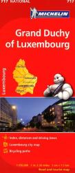 Grand Duchy of Luxembourg (717) by Michelin Maps and Guides