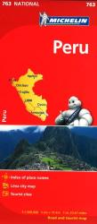 Peru (763) by Michelin Maps and Guides