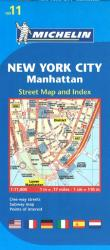 Manhattan, New York City (11) by Michelin Maps and Guides