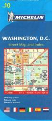 Washington, DC (10) by Michelin Maps and Guides