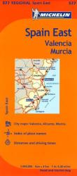 Valencia, Murcia and Eastern Spain (577) by Michelin Maps and Guides