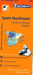 Castilla y Leon and Madrid, Spain (575) by Michelin Maps and Guides
